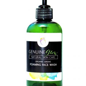 Organic Greens Foaming Face Wash