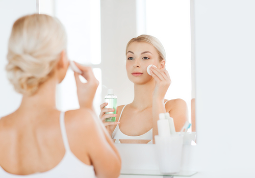 Why you should take your makeup off at night
