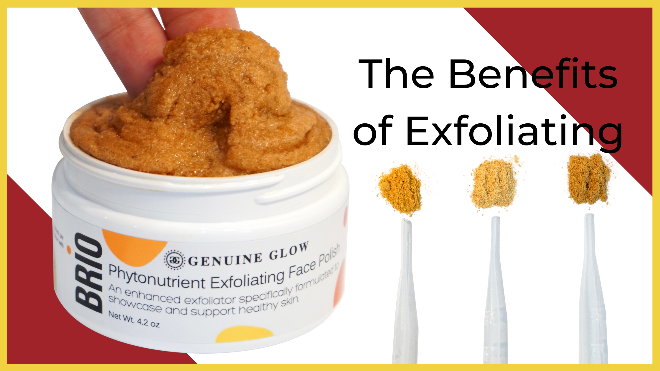 The Benefits of Exfoliating